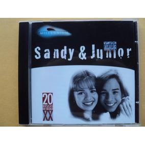 Sandy E Junior- Cd Millennium- 1998- Original- Zerado!