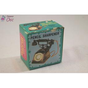 Apontador Miniatura De Telefone Antigo P/ Coleção Cchic *