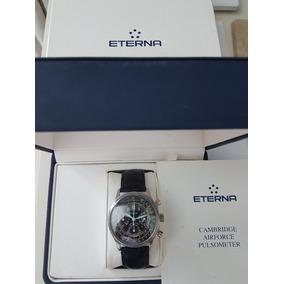 0ca0393990d Relogio Eterna Chronograph Cambridge Airforce Pulsometer