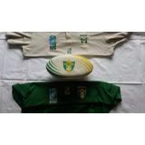 Camisa Abr Mundial De Sevens 2009 E Bola De Rugby Abr