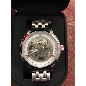 ab158bc3ce5 Reloj Emporio Armani Mecanico Esqueleto en Mercado Libre México