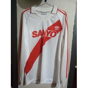 Camiseta De River Plate 1993 adidas Mangas Largas Impecable