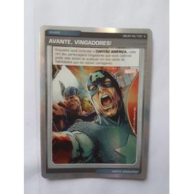Marvel Battle Scenes - Card 43/100 - Avante Vingadores