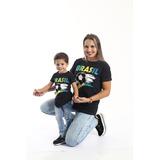 Kit Camisetas Long Tal Mãe Tal Filho