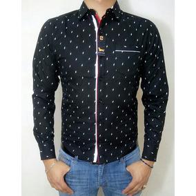 Camisa De Vestir Color Negro