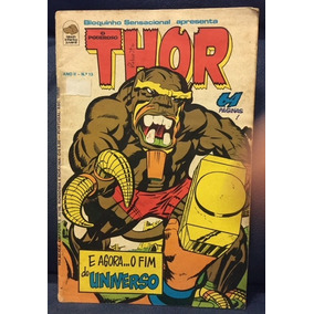 Thor Nº 13 - Editora Bloch