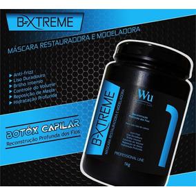 Botox Capilar Wu Cosmeticos 1kg Profissional Liso Perfeito