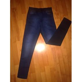 Jeans De Mujer Con Pinzas Atras - Pantalones bf6c6bed4c35