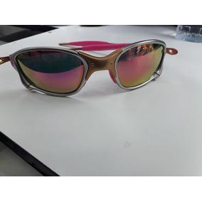 Juliet 24k Rosa - Óculos De Sol Oakley Juliet no Mercado Livre Brasil 99c0630d2d