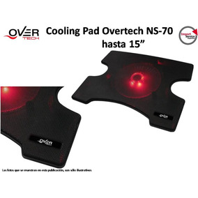 Cooling Pad Overtech Ns-70 Hasta 15 Pulgadas