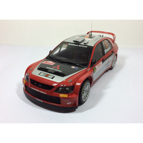 Miniatura Autoart Rally Mitsubishi Lancer Wrc 2005 1/18