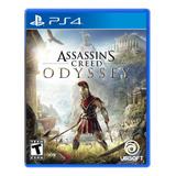 Assassins Creed Odyssey Ps4 Nuevo Y Sellado