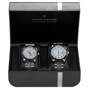 Claude Bernard 2x1 Set Couple White Acero Blanco Diego Vez