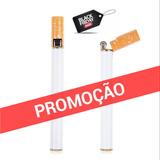 Isqueiro Autêntico / Em Formato De Cigarro / Recarregável