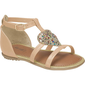 f6375fb92e Sandalia Infantil Kidy Com Strass Numero 23 - Sapatos no Mercado ...