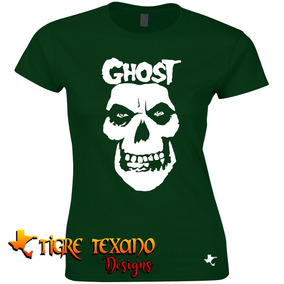 Playera Bandas Ghost B. C. Mod. 08 By Tigre Texano Designs