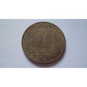 Moeda 50 Centavos 1943 Getúlio Vargas