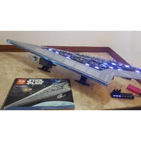 Blocos Montar Lepin 05028 Super Star Destroyer 3208+kit Ilum