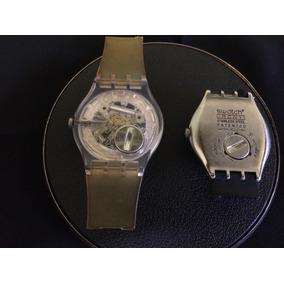 dcd74361ce4 Lote 2 Relógio De Pulso Unissex Swatch Swiss
