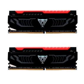Memoria Patriot Viper Led Vermelho 16gb 2x 8gb 2400mhz Ddr4