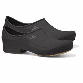Sapato Profissional Antiderrapante Fujiwara Moov Preto