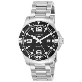 Reloj Longines Hydroconquest Black Dial Para Hombre L3.73