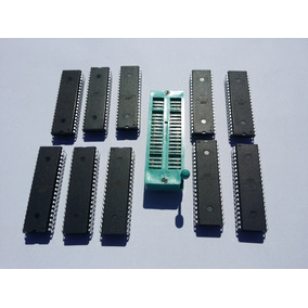 Atmega1284p - Microcontrolador + Cristal 16 Mhz + 2x22pf