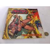 Comic Vintage Usa Super Adventure Motu Time Trouble Heman