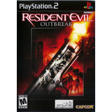 Resident Evil Outbreak Play Station 2 Nuevo Sellado