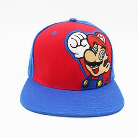 Chapéu Boné Boina Bordado Cosplay Mario - Super Mario Bros · R  54 99 cb3ef95a43f