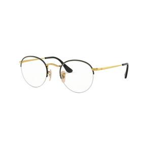 c58f373f826f8 Óculos De Grau Redondo Ray Ban Rb 3947 2946 Round Gaze