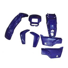 Kit Carenagem - Xlr 125 Azul 97/98 - Sem Adesivo - 7 Peças