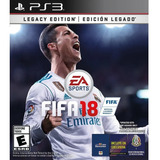 Fifa 18 Formato Digital Ps3 Legacy Edition Latinoamericano
