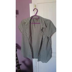 brechó  Camisa Feminina Side Walk Verão (pouco Usada) 03f4ac8f1c1bb