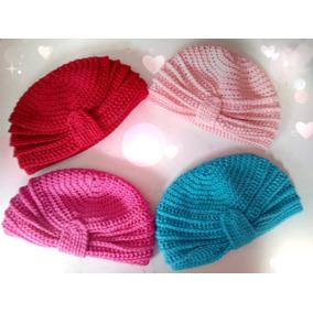6 Gorras Para Bebé Varios Colores