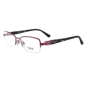 2f4e474f00874 Óculos De Grau Feminino Vogue Original Vo3813 812 Tam.51
