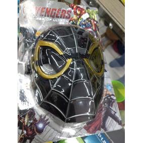 Máscara Avengers - Homem Aranha Black Lançamento 2019
