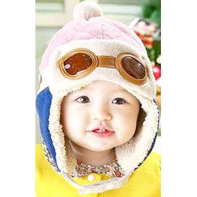 Chapéu Aviador Bebê Cap Gorro Touca Infantil Moda Frio Kids 550ca53beb8