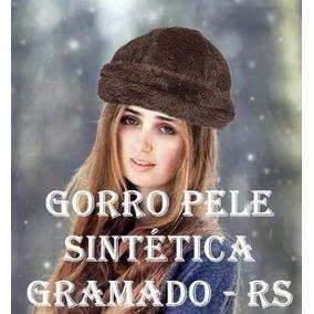 Gorro De Pelo Sintetico - Acessórios da Moda no Mercado Livre Brasil c7cdd629b6b