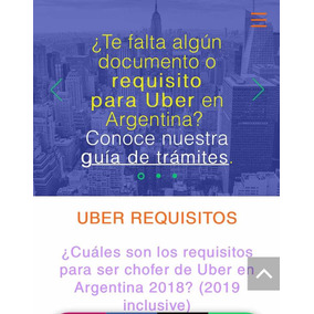 Inscripciones Monotributistas Cabify O Uber / Glovo Rappi