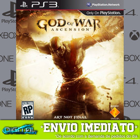 God Of War Iv Ascension Ps3 Midia Digital Envio Hj!