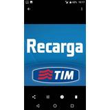 Recarga De Celular Crédito Tim R$60