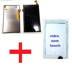 Display Lcd Touch + Vidro Tablet Multilaser M7 3g Plus Branc