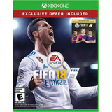 Fifa 18 Xbox One Español Latino + 500 Monedas Ultimate Team