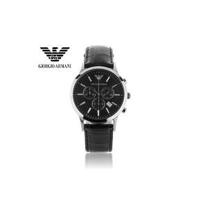 cccf6ced738 Relógio Emporio Armani Onsale Ar2447 Com Certificado