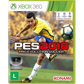 Pro Evolution Soccer 2018 - Pes 18 - Xbox 360 - Novo Física