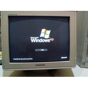 Computadora Pc Cpu Monitor Teclado Windows Xp Sin Envios