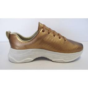 Calzado Para Dama De Moda Plataforma Sneakers