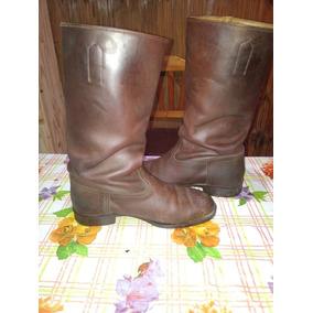 Botas Hombre Cuero - Botas y Botinetas A Pie de Hombre en Mercado ... e24698ae1626b