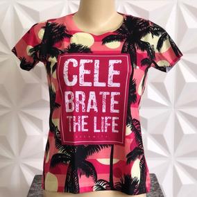 T-shirts Blusa Roupa Camisa Feminina Moda Tropical Sulamita